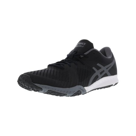 Asics Men's Weldon X Black / Carbon White Ankle-High Running Shoe - 10.5M