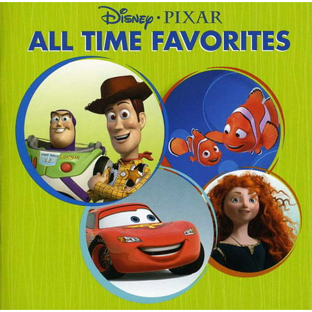 Disney Pixar All Time Favorites (CD)