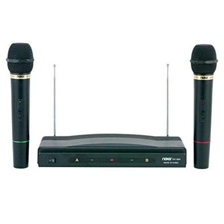 Naxa NAM-984 Professional Dual Wireless Microphone System consumer