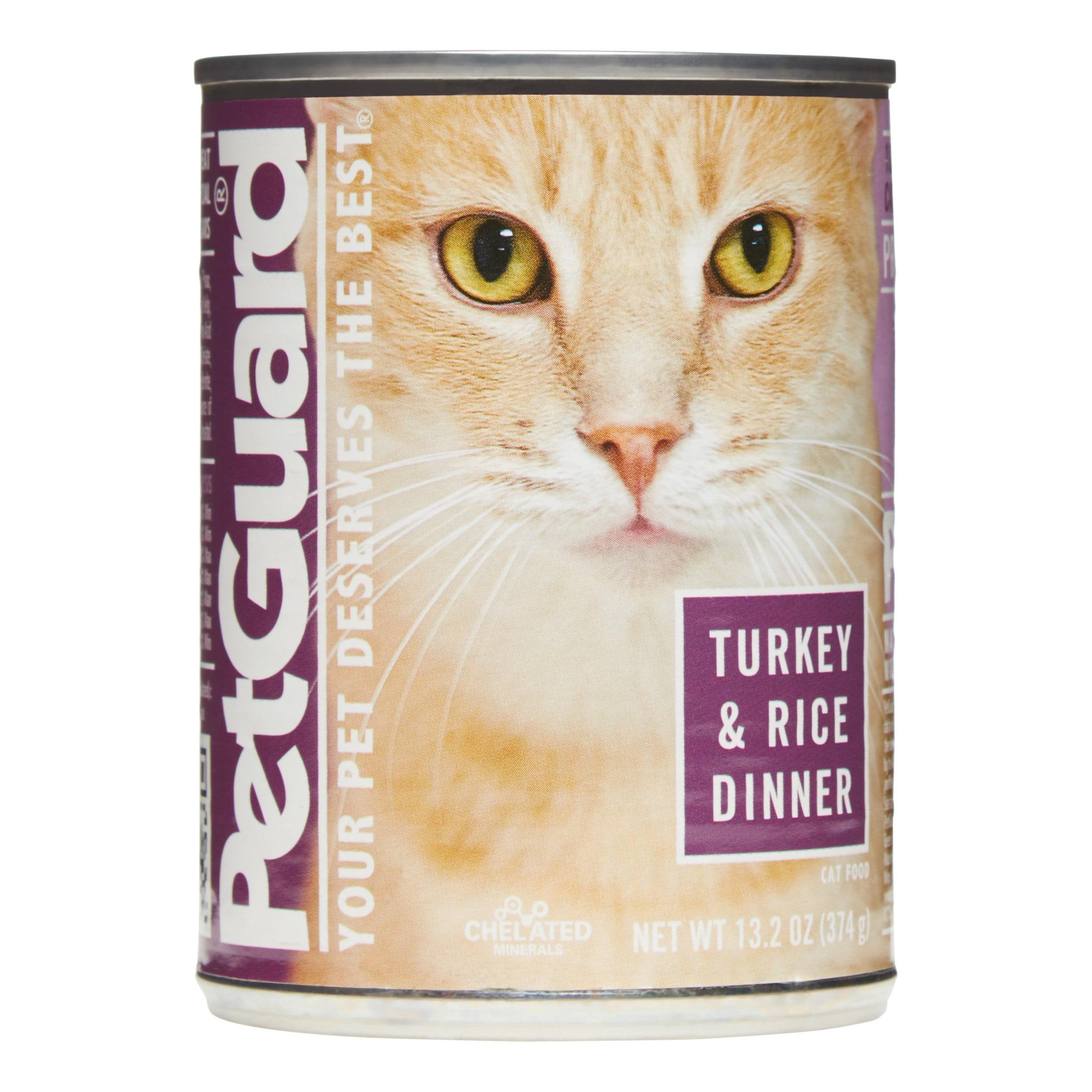 PetGuard Turkey & Rice Dinner Wet Cat Food, 13.2 oz