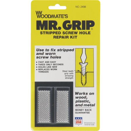Pocket Hole Screw Kit (Mr. Grip Screw Hole Repair Kit )
