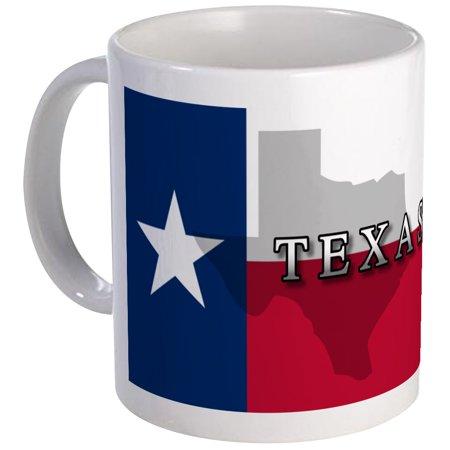 CafePress - Texas Flag Extra Mug - Unique Coffee Mug, Coffee Cup - Texas Coffee