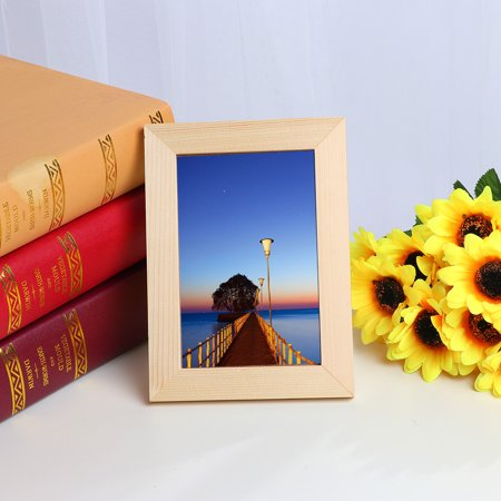 Home Decor Wooden Picture Frame Wall Mounted Hanging Photo -