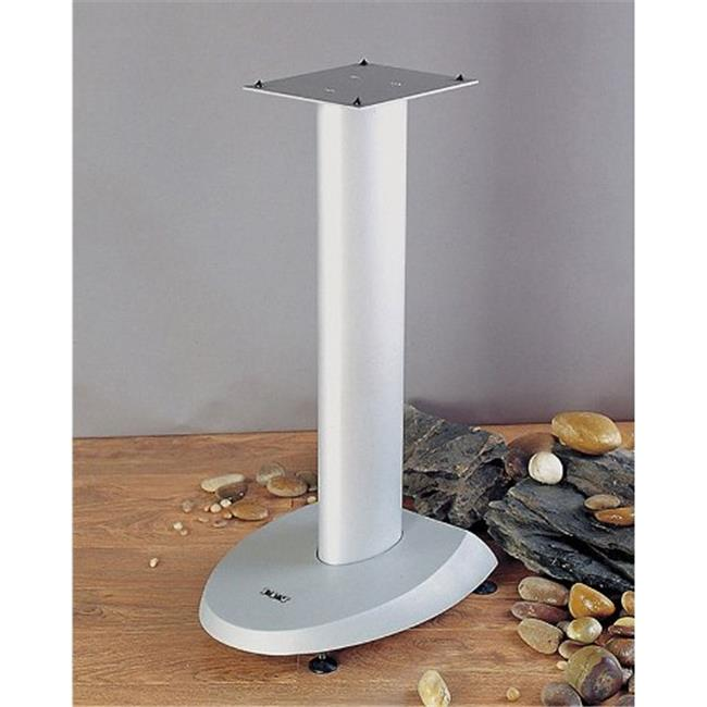VTI Manufacturing VSP24S Grey Silver Base Silver Aluminum Pole 24 in. Height Speaker Stand by VTI Manufacturing