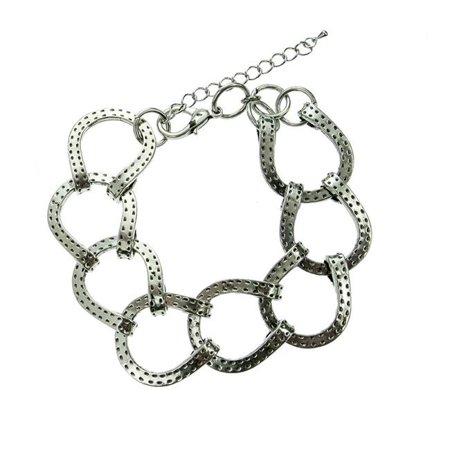 122626 Bold Horseshoe Bracelet, Large - Size 10