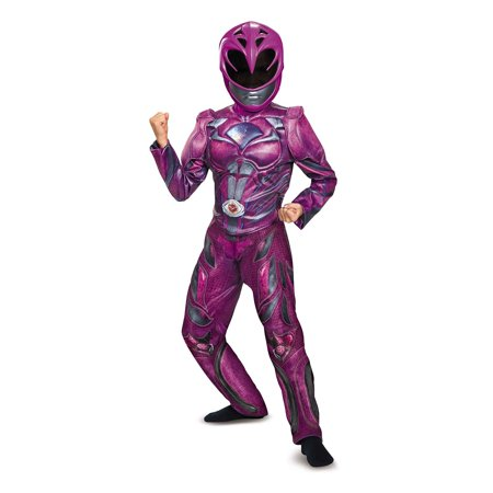 Power Rangers: Pink Ranger Deluxe Child Costume - Girls Large (Girls Power Ranger)