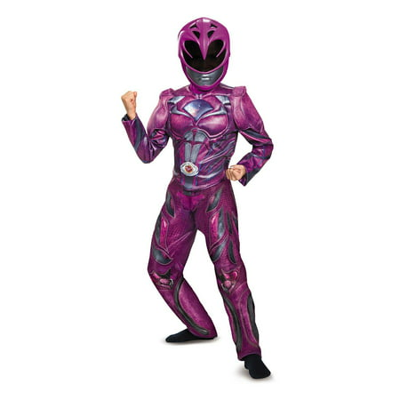 Power Rangers: Pink Ranger Deluxe Child Costume - Girls Large