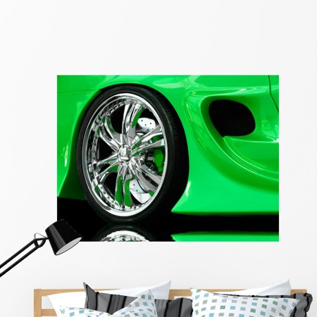 Hot Wheels Wall Mural by Wallmonkeys Peel and Stick Graphic (48 in W ...