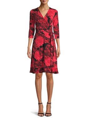 Women's Wrap Front Dress