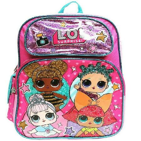 Go Go Girl Bag (L.O.L Surprise! Small School Backpack 12