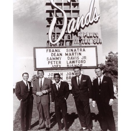 Laminated Poster Frank Sinatra The Rat Pack Sands Hotel Poster Print 24 x 36