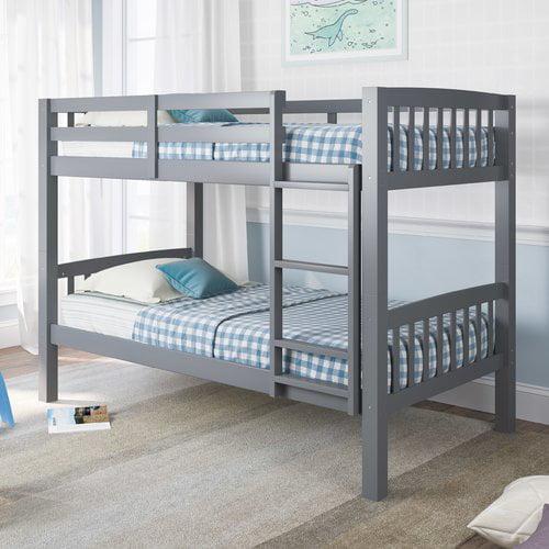Harriet Bee Nicholson Twin over Twin Bunk Bed