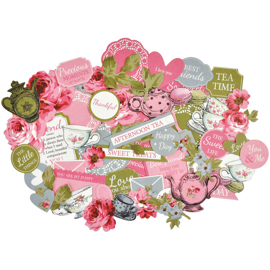 High Tea Collectables Cardstock Die-Cuts