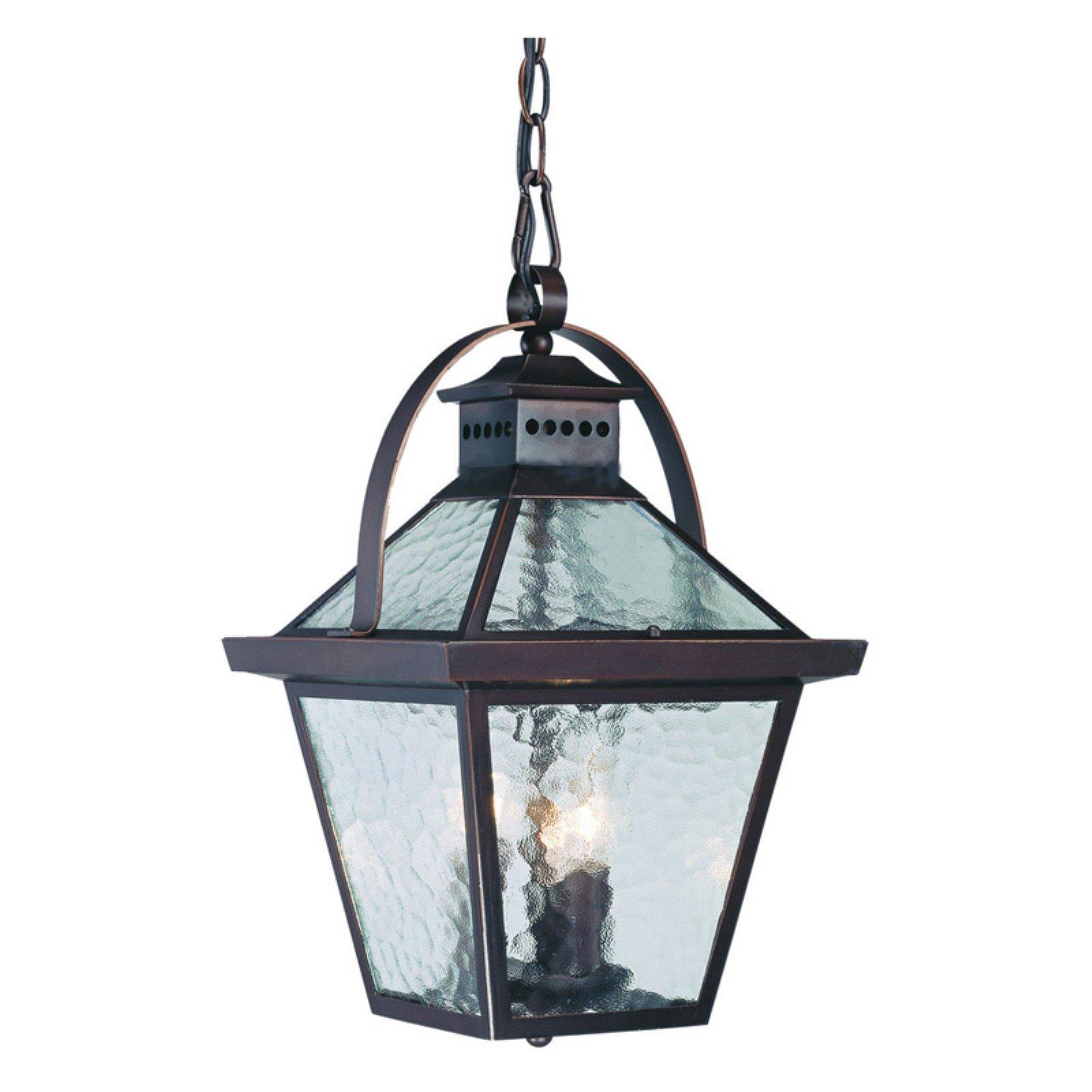 Acclaim Lighting Bay Street 9.75 in. Outdoor Hanging Lantern Light Fixture