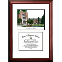 "Purdue University 7.625"" x 9.625"" Scholar Diploma Frame"
