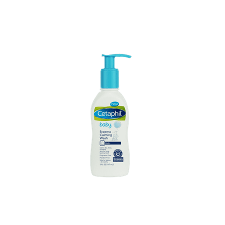 Cetaphil Baby Eczema Calming Wash (Best Soap For Toddlers With Sensitive Skin)