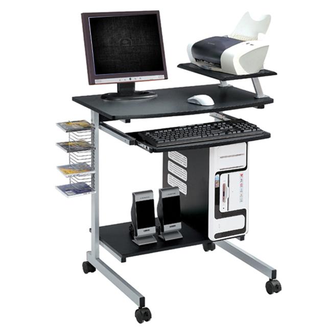 Ergonomic Multifunction Mobile Compact Computer Desk - Graphite