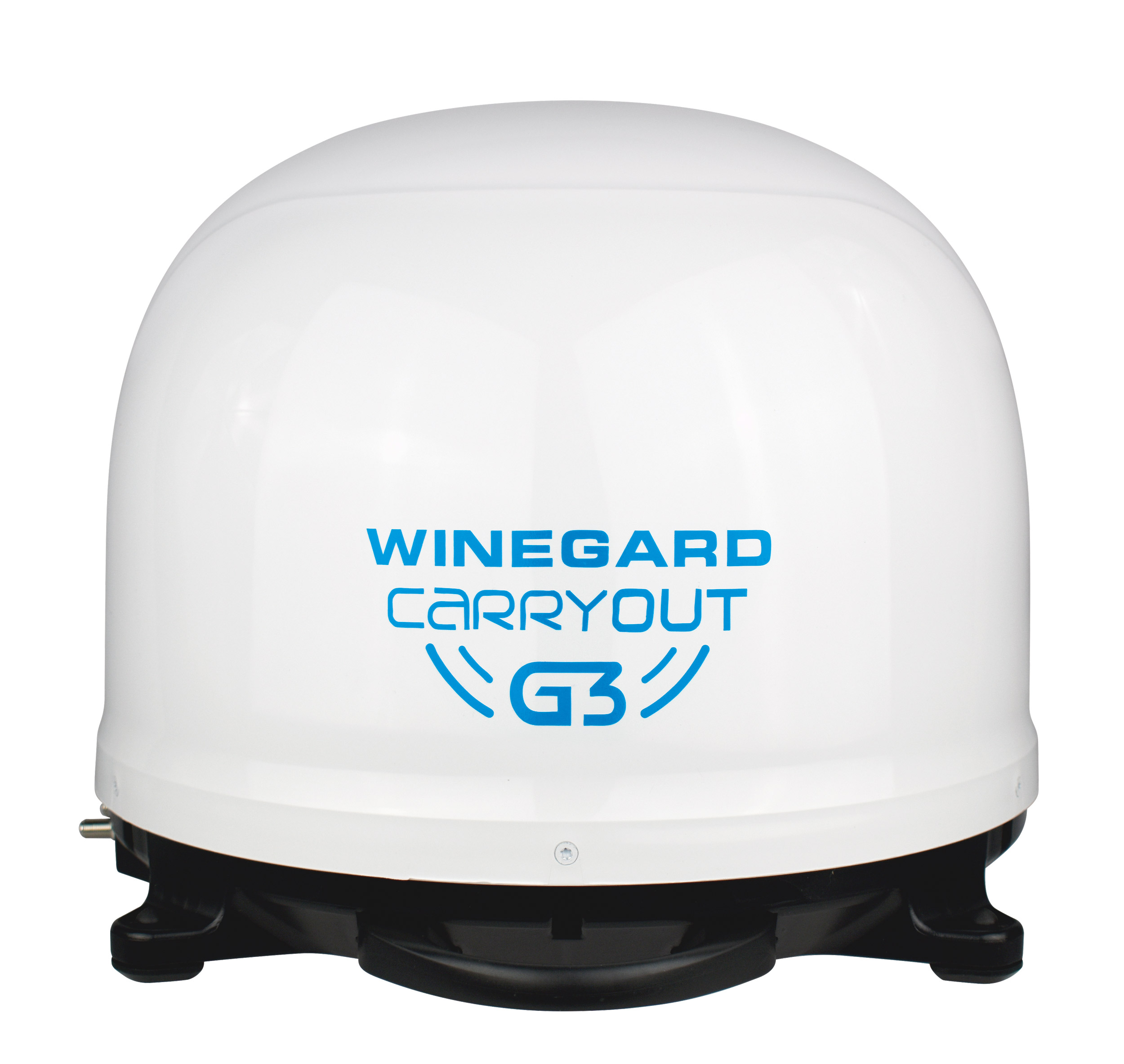 Winegard Carryout G3 Portable Automatic Satellite TV Antenna, White Dome for RVs, Trucks, Tailgating, Camping and Outdoor