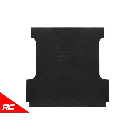 Rough Country Rubber Bed Mat (fits) 2019 RAM Truck Premium Bed