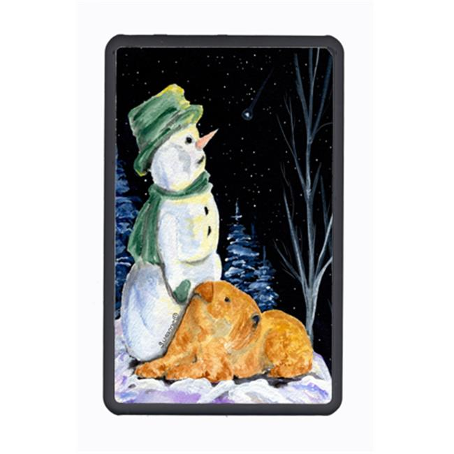 Carolines Treasures SS8555KFC Snowman With Lakeland Terrier Kindle Fire Snap On Case