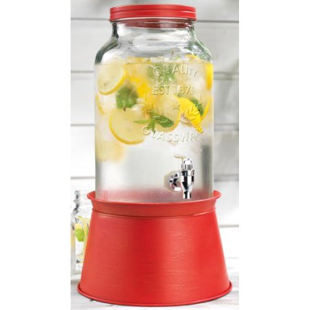Palais Glassware High Quality Mason Jar Beverage Dispenser