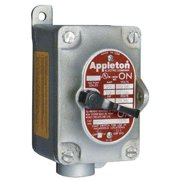 APPLETON ELECTRIC EDS31MC2 Motor Switch, 20A, 600V, Dead-End, Hub 1, 2P
