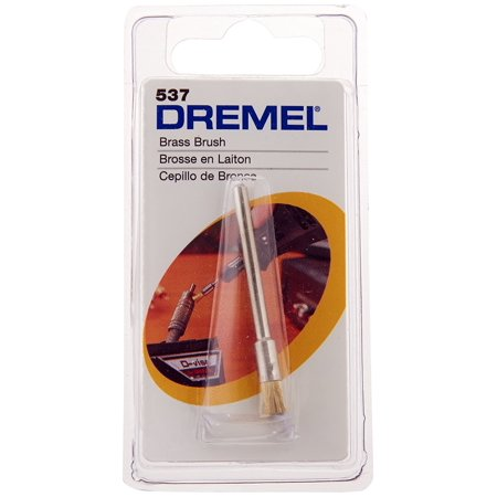537 Brass Brush - End Shape 1 Pack, Ship from USA,Brand Dremel