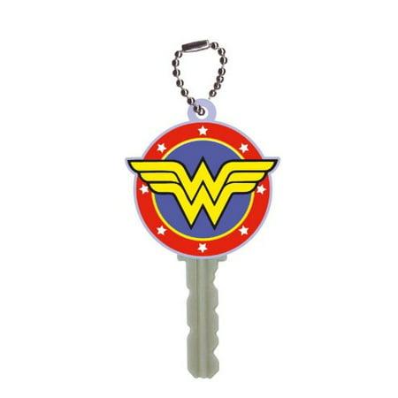 DC Comics Soft Touch Key Cover Logo