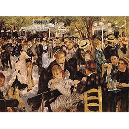 The Ball At The Moulin De La Galette Poster by Renoir, 16