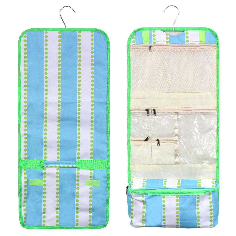 Zodaca Travel Hanging Cosmetic Carry Bag Toiletry Wash Organizer Storage