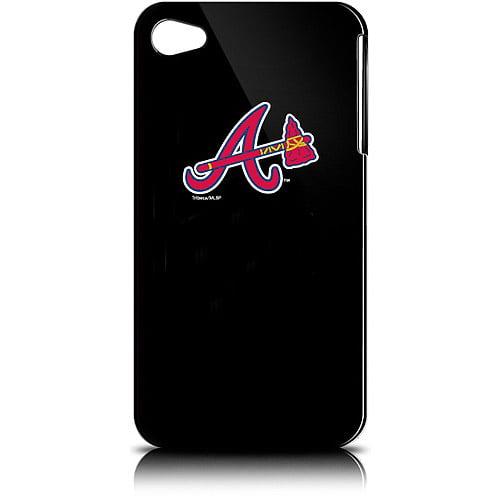 Tribeca Varsity Jacket Solo iPhone 4 Case, Atlanta Braves, Black