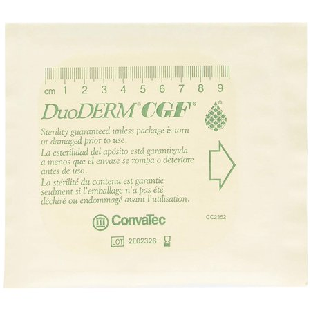 DUODERM CGF 4x4, Box of 5, 187660, Box of 5 Dressings By - Convatec Surepress Absorbent Padding