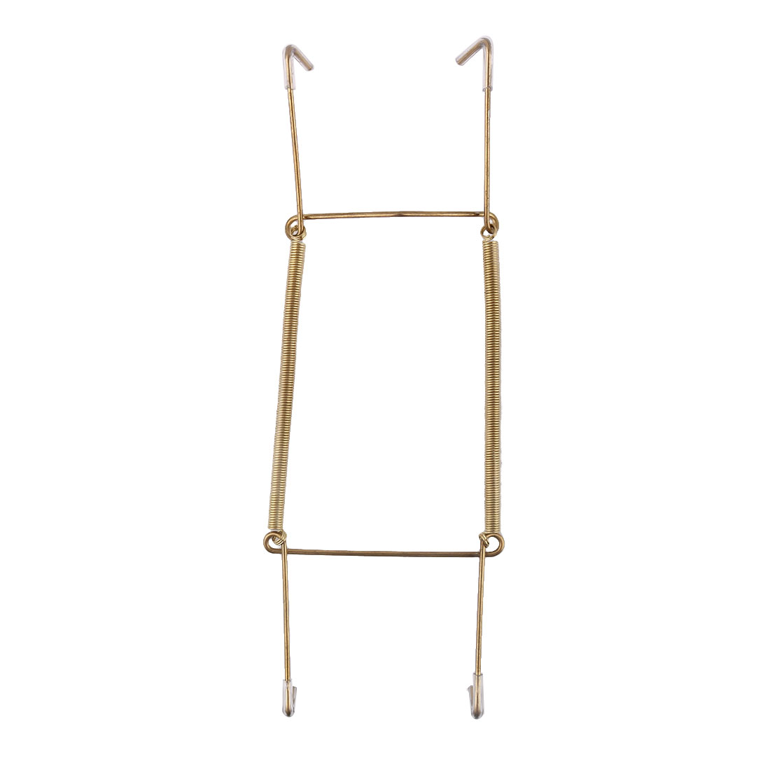 Metal 8.3 to 10 Inch Spring Plate Hangers Wall Holder Hook Display Gold Tone  sc 1 st  Walmart & Metal 8.3 to 10 Inch Spring Plate Hangers Wall Holder Hook Display ...