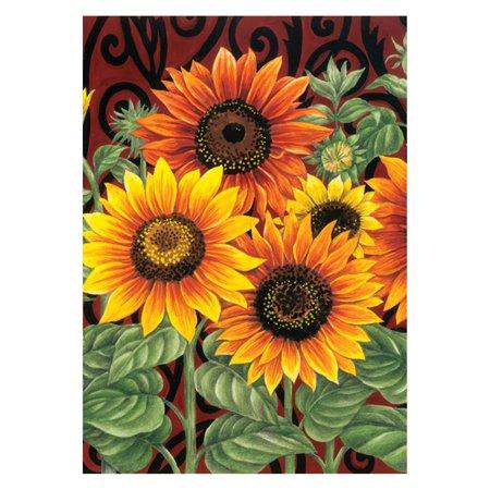 Toland Home Garden Sunflower Medley Flag (Practice Green Flag)