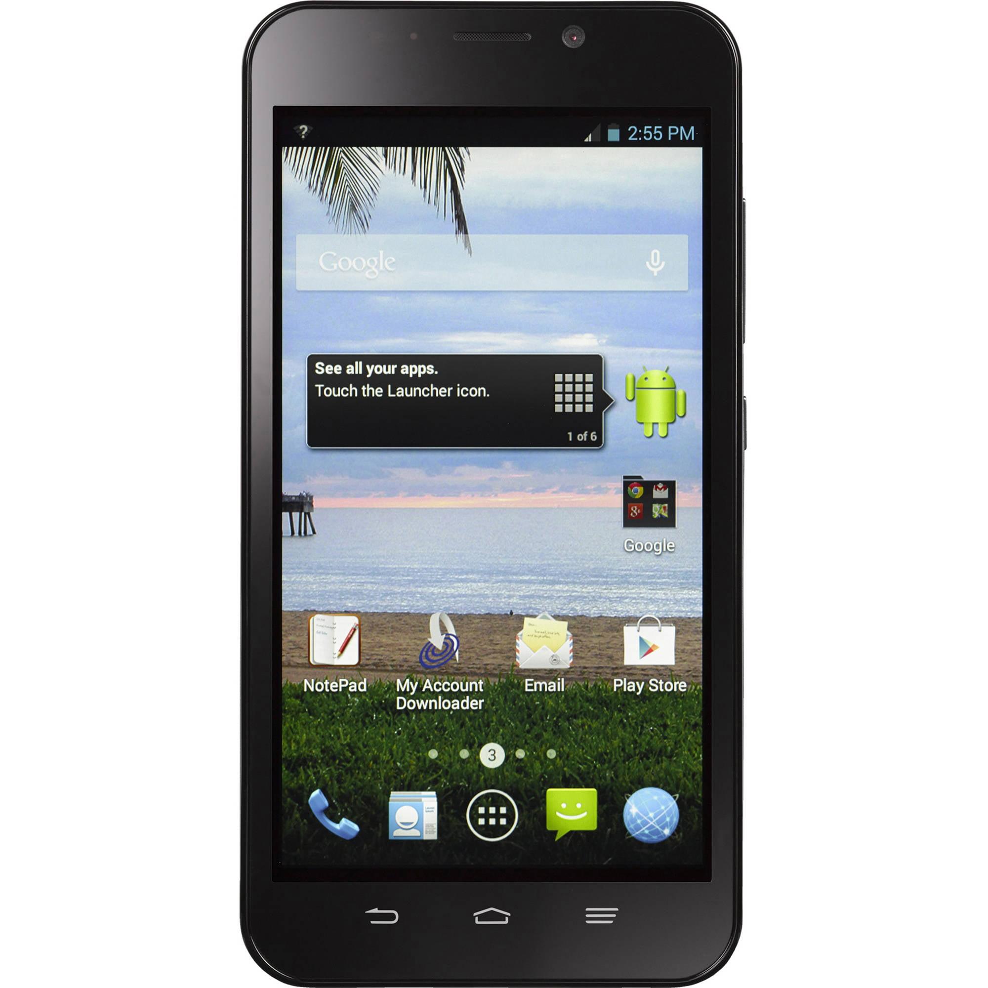 Straight Talk ZTE Quartz Android Prepaid Smartphone