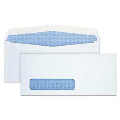 Quality Park Window Envelope, Address Window, #10, White, (Proper Way To Address Envelopes For Graduation Announcements)