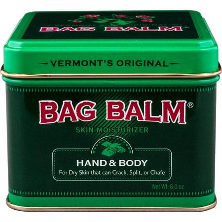 Vermont's Original Bag Balm Skin Moisturizer for Hand & Body, 8 Oz - Tropez Body Moisturizer
