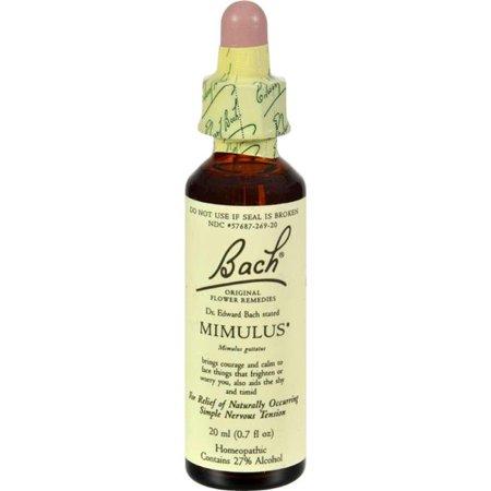 Bach HG0233718 0.7 fl oz Flower Remedies Essence - Mimulus ()