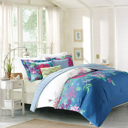Better Homes And Gardens Ombre Floral 5 Piece Bedding
