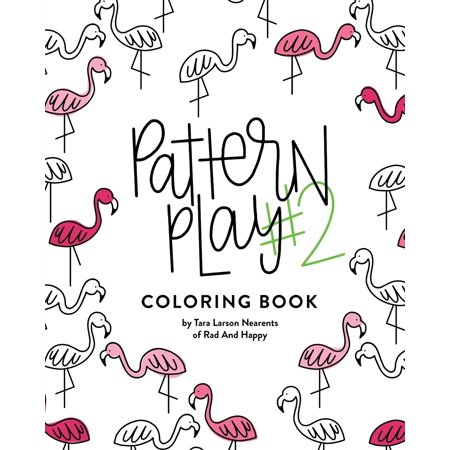 Pattern Play #2 : All Ages Coloring Book (Pattern Play)