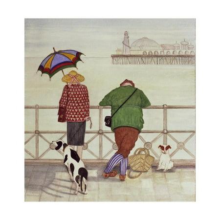 Brighton Pier, 1986 Print Wall Art By Gillian Lawson