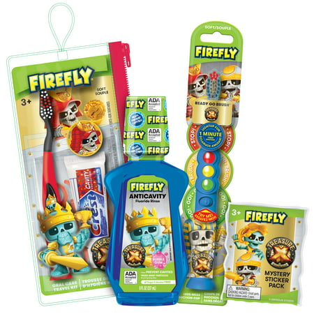 "Firefly Treasure X Oral Care ""Smile Value Pack"""