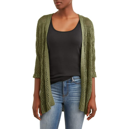 - Women's Tape Yarn Cardigan