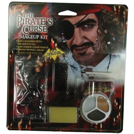 Pirate Horror Character Kit Adult Halloween Accessory](Halloween Horror Make Up)
