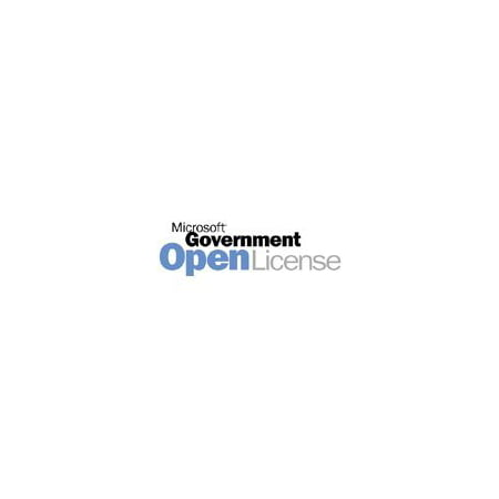 Microsoft Project Professional   Software Assurance   1 Pc   Gov   Olp  Government   Win   English