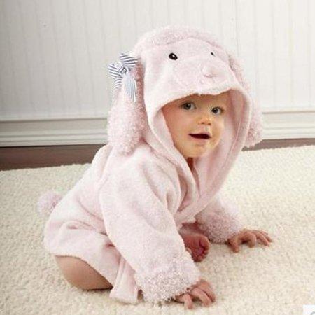 537e57f144 Mosunx Cute Designs Hooded Animal modeling Baby Bathrobe Cartoon Baby Towel  - Walmart.com