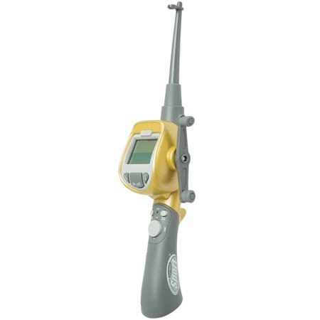Handheld Digital LCD Sport Fishing Game w/ Real Sound Effects & 14 Lures