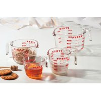 Deals on Pyrex 4-Piece Glass Measuring Cup Set