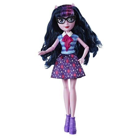 My Little Pony Equestria Girls Twilight Sparkle Classic Style Doll - Little Girl Doll Makeup Halloween