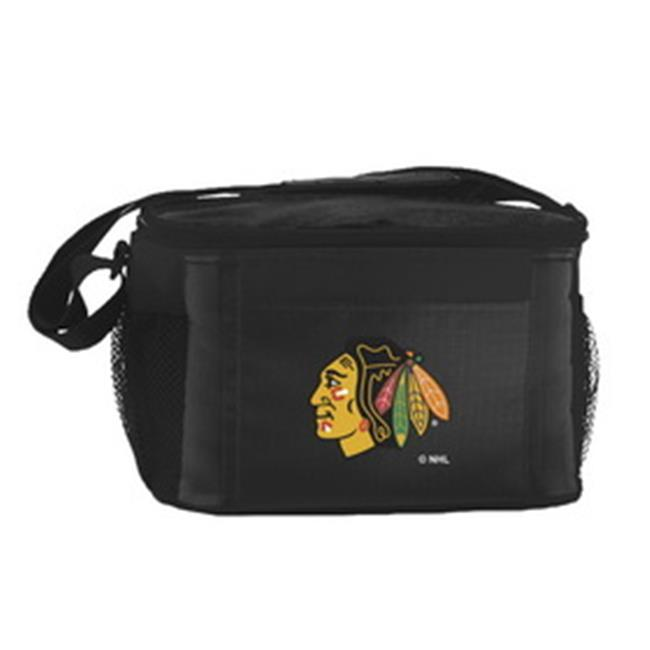 Chicago Blackhawks Kolder Kooler Bag - 6pk - Black - image 1 of 1